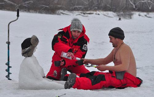 ロシア人と冬02