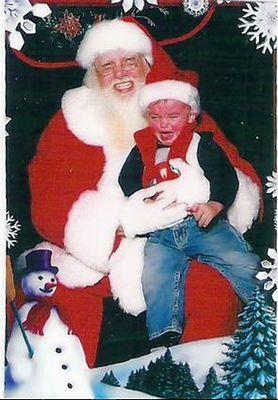 サンタクロースが怖い18