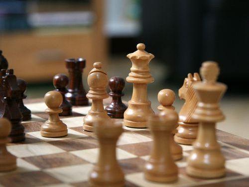 チェスプレイヤーがサッカーをすると00