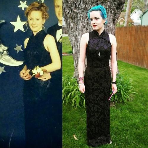 母親のドレスを着るアメリカの女子高生たち04