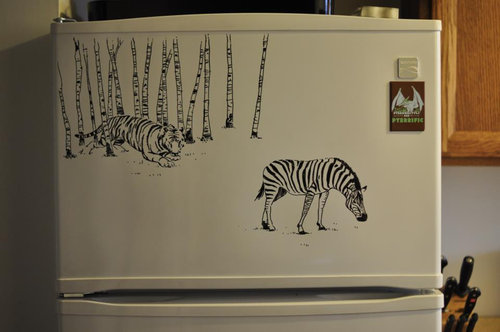 冷蔵庫アート10