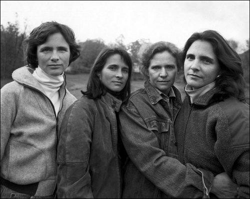 4人姉妹の毎年の写真16