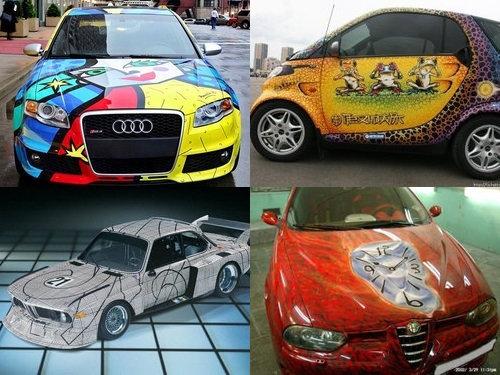 00アートな自動車