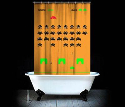 面白シャワーカーテン03