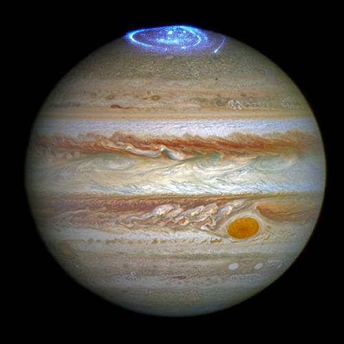 木星とオーロラ01