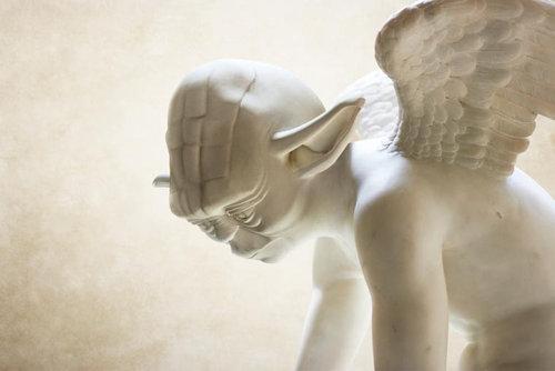 スターウォーズをギリシャ彫刻風に05