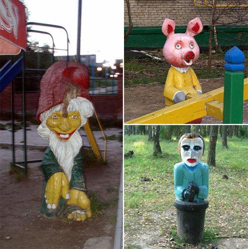 ロシアの遊具25