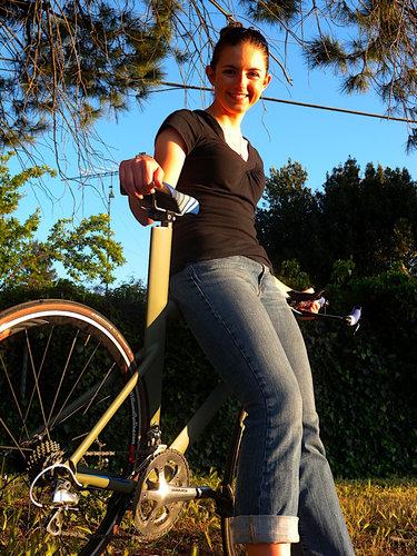 妻のために自転車を作った34