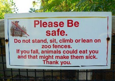 動物園の面白標識01