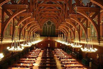 ハーバード大学の食堂01