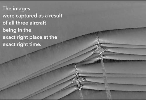 超音速機によるソニックブームの衝突02
