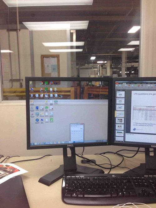 デスクトップ画面を透明にした01