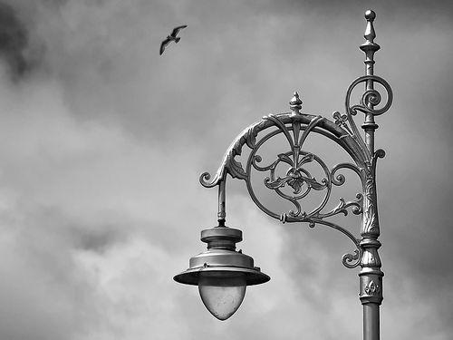 アイルランドの街灯が盗まれる00