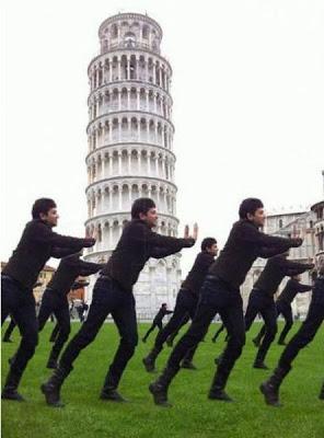 ピサの斜塔の修正写真13