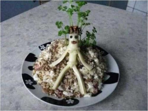 ロシア流の料理デコレーション04