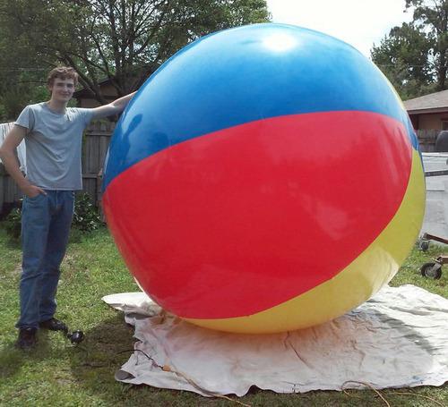 巨大ビーチボールのアマゾンレビュー04