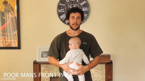 「赤ちゃんの抱き方」12