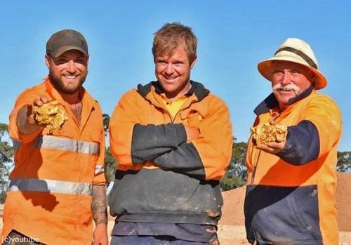 オーストラリアで同じ日に2600万円の金塊が見つかる02