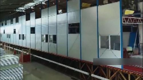 中国でコロナウイルス患者用の病院を10日で建設08