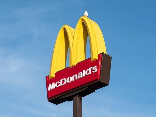 80年代から改装されていないマクドナルド