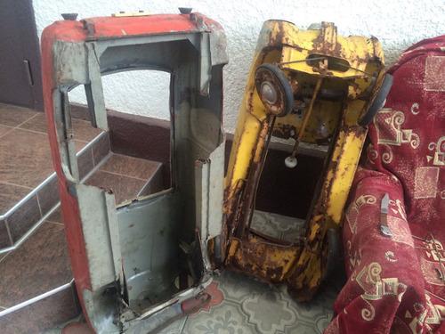 ソ連時代の子ども用のペダル車をレストア03