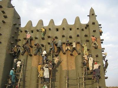 泥のモスク09