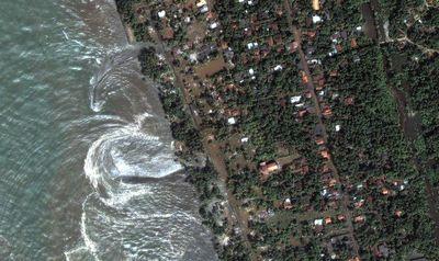スリランカ海岸の津波(2004年12月26日)-02