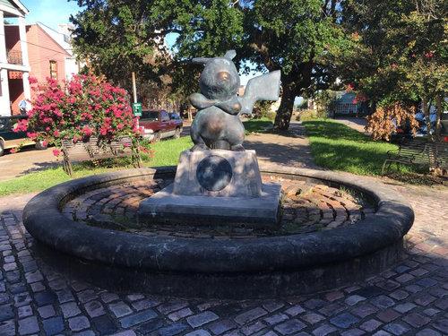 アメリカで「ピカチュウ」の銅像が違法に建てられる04