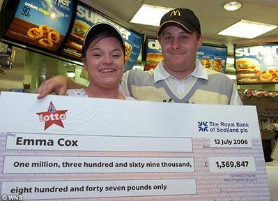 2億6000万円の宝くじが当たったけど、マクドナルドの仕事が恋しい01