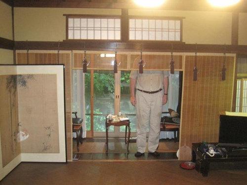 身長201cmの親父が日本に旅行した01