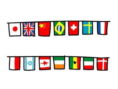 Ⅳ 国旗コーデ : おしゃれを ... : 世界 国の名前 : すべての講義