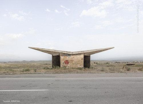 ソ連のバス停09