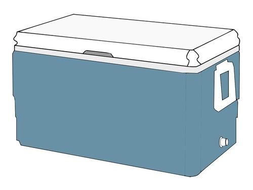 クーラーボックスを野良猫の冬用のシェルターにリサイクル00