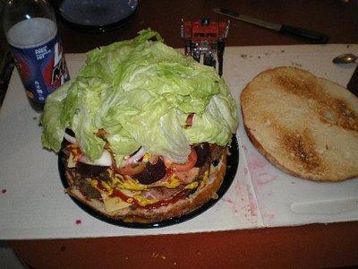 巨大ハンバーガー12