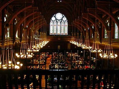 ハーバード大学の食堂05