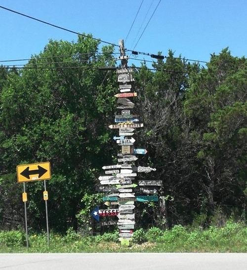 テキサス州の標識01