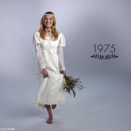 ウェディングドレスの変化07