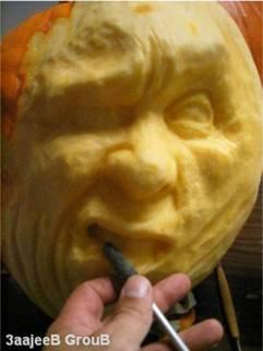 かぼちゃ彫刻05