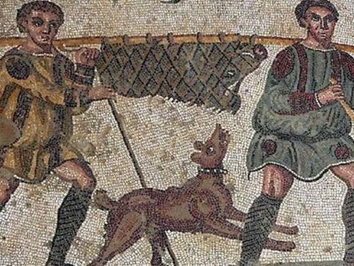 ローマ人は犬のために墓を作っていた00