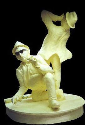 バター彫刻02