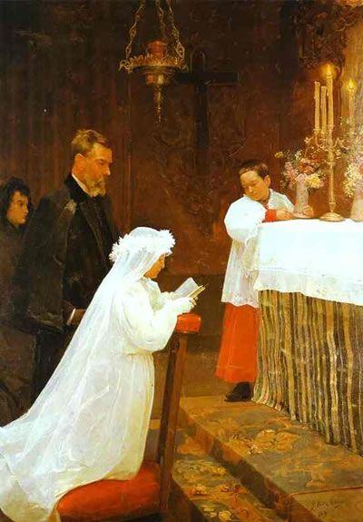 La premiere communion