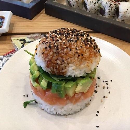 寿司バーガー01