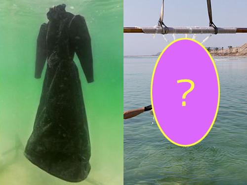 死海に2年間ドレスを沈めると→こんな姿に変身する00