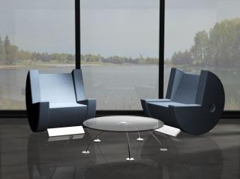 パックマン椅子1