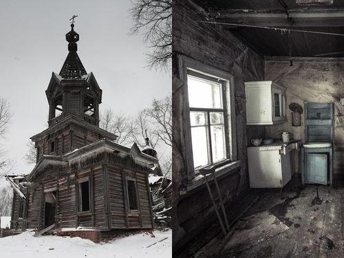 ロシアの廃村00