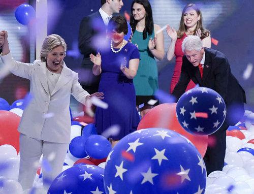 ビル・クリントンはバルーンが大好き10