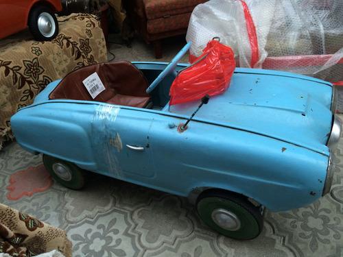 ソ連時代の子ども用のペダル車をレストア13