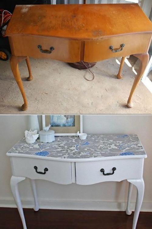 旧ソ連の家具をリメイク01