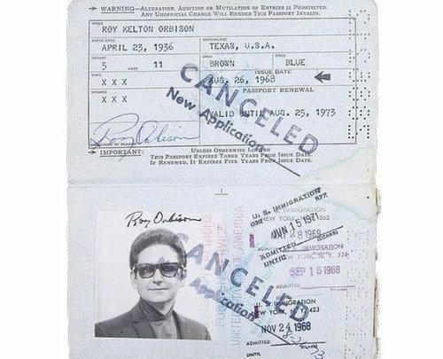 歴史上の有名人のパスポート05