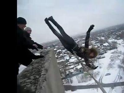 ロシアのバンジージャンプ